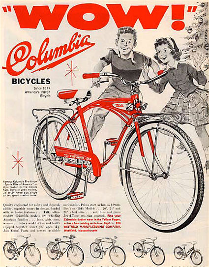 Vintage Bike Ads Posters Indi Bikes